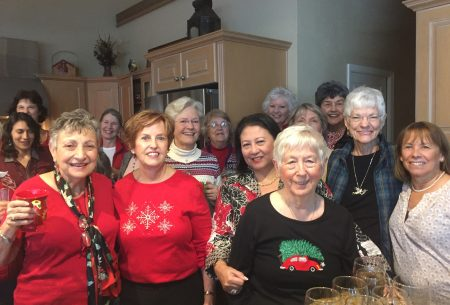 Book Club Christmas Party